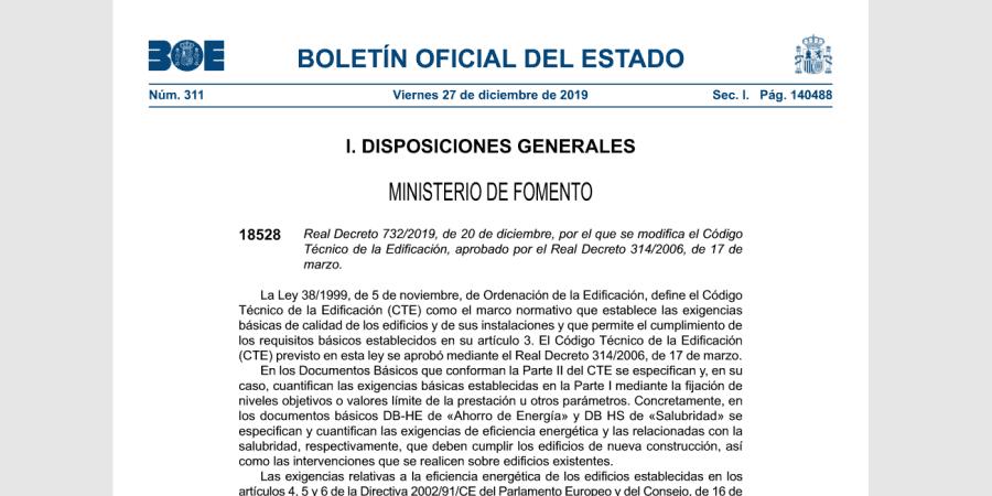 real-decreto-732-2019-nuevo-cte