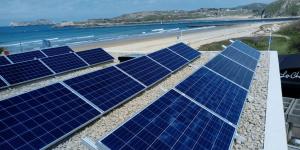instalación de aerotermia con fotovoltaica de Enertres