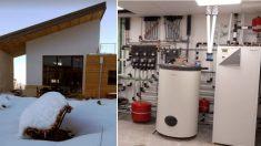 Casa pasiva domotizada con aerotermia Daikin Altherma en La Rioja