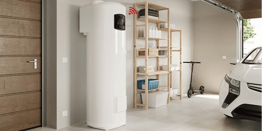 bomba de calor para agua caliente nuos plus wifi
