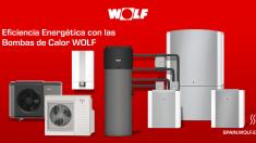 Bombas de calor Wolf para una climatización más sostenible y eficiente