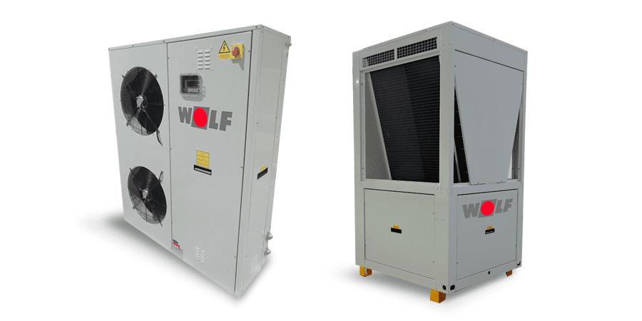 sistemas de bombas de calor mha 2